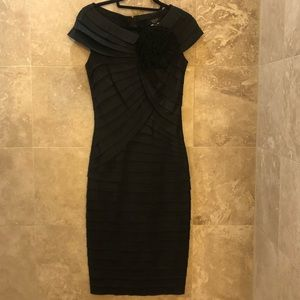 Tadashi Black Dress